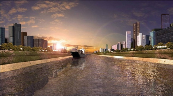 Istanbul's latest construction project Kanal Istanbul is set to be one of the largest in Turkish history. -will continue ?
