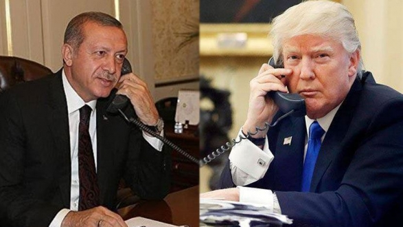 President Erdoğan had a telephone conversation with US President Donald Trump.
