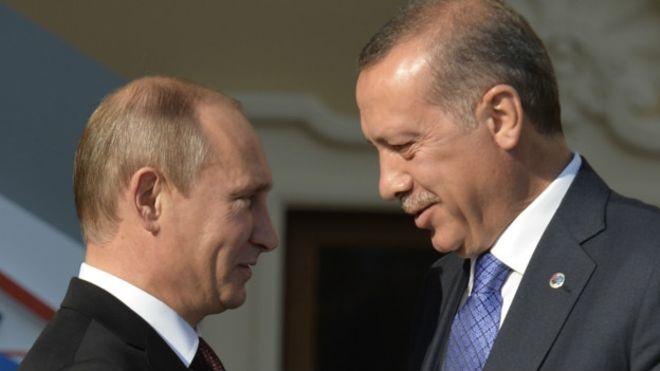 Rusya Devlet Başkanı Putin Yarın Cumhurbaşkanı Erdoğan ile görüşmek üzere Ankara'ya geliyor